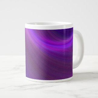 Paars nachtstorm grote koffiekop