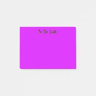 Paars om Lijst te doen Post-it® Notes
