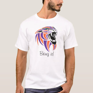 Paars, Oranje, Zwart, breng het! T Shirt