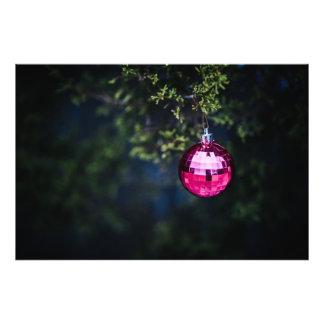 Paars Ornament Foto Afdrukken