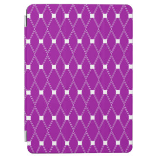 Paars Rooster Argyle iPad Air Cover
