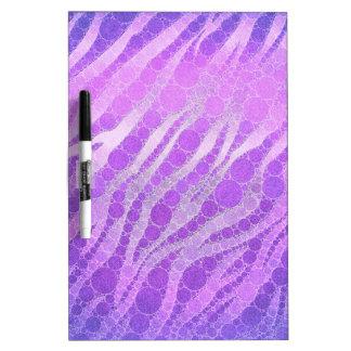 Paars Roze Zebra Whiteboard