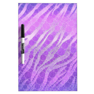 Paars Roze Zebra Whiteboards