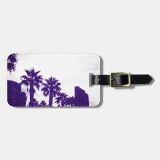 Paars San Diego Kofferlabels