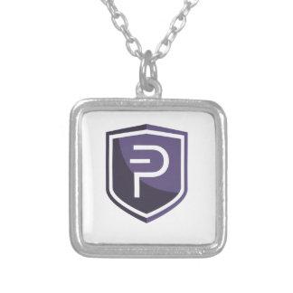 Paars Schild PIVX Zilver Vergulden Ketting