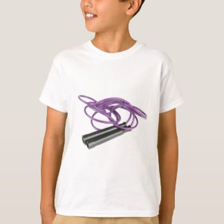 Paars Springtouw T Shirt