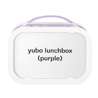 (paars) yubolunchbox lunchbox