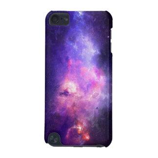 Paarse aanraking 5 van de Melkweg iPod hoesje