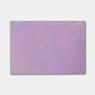 Paarse Abstracte Waterverf Post-it® Notes