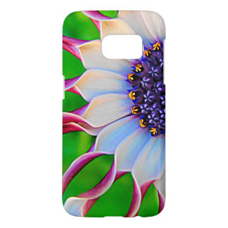 Paarse Afrikaanse Daisy Elegant Floral Samsung Galaxy S7 Hoesje