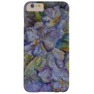 Paarse BloemeniPhone 7 van de Kunst van de Barely There iPhone 6 Plus Hoesje
