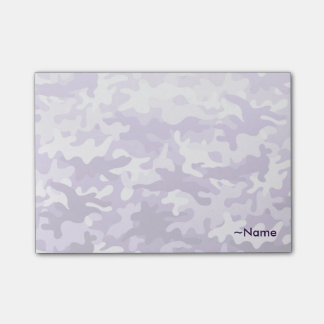 Paarse Camo Post-it® Notes