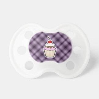 Paarse Cupcake Speen
