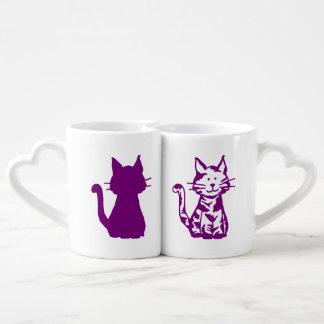 Paarse en Witte Katten Loversmok