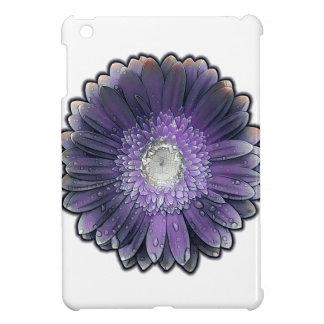 Paarse gerbera van de Regen iPad Mini Hoesje