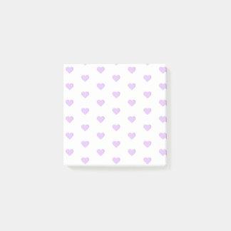 Paarse Harten Emoji Post-it® Notes