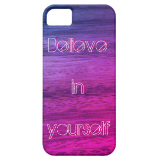 Paarse Houten Textuur Barely There iPhone 5 Hoesje