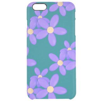 Paarse iPhone van Daisy Flowers 6/6s plus Hoesje