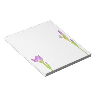 Paarse Iris Notitieblok