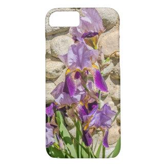 Paarse Iris voor Hen Bloemen van de Liefde van Die iPhone 8/7 Hoesje