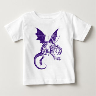 Paarse Jabberwocky Baby T Shirts
