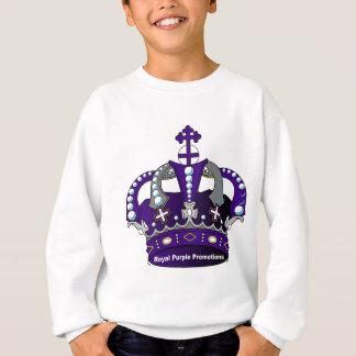 Paarse Koninklijke Kroon Trui