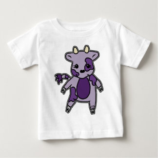 Paarse Moo Baby T Shirts