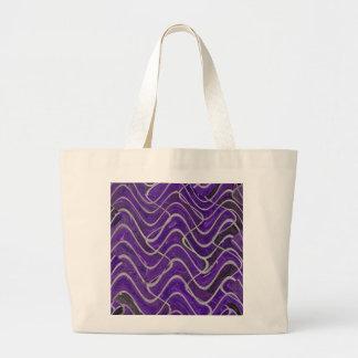 paarse muur astract canvas tassen
