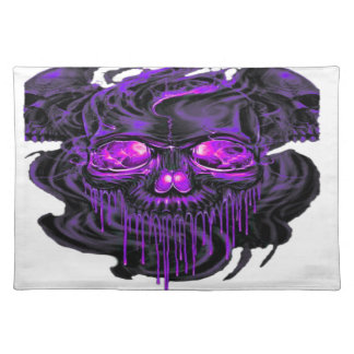 Paarse Nerpul Skeletten PNG Placemat