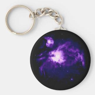 Paarse Nevel Orion: Melkweg Sleutelhanger