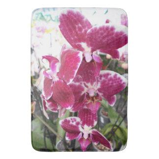 Paarse Orchideeën Badmat