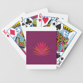 Paarse ornamentenluxe poker kaarten