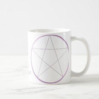 Paarse Pentacle van het Gel Koffiemok