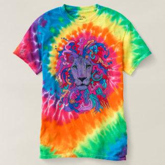 Paarse Psychedelische Leeuw T Shirts