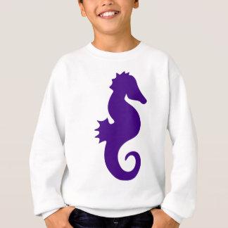 Paarse Seahorse Trui