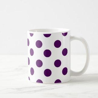 Paarse Stip Koffiemok
