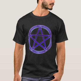Paarse T-shirt Pentical