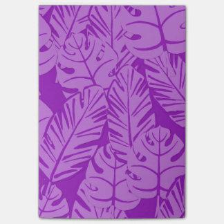 Paarse Tropische Botanische Post-its Post-it® Notes