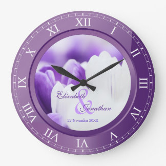 Paarse Violetkleurige van het Jubileum van het huw Grote Klok