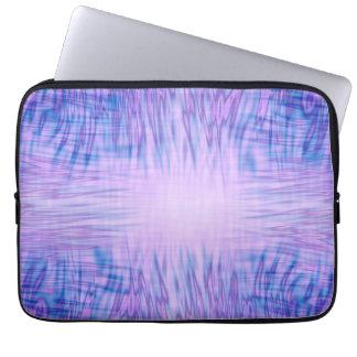 Paarse Vlammen Laptop Sleeve