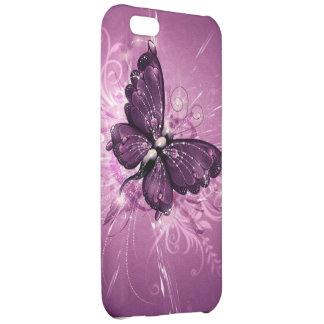 paarse vlinder vectorart iPhone 5C covers