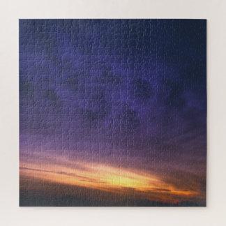 Paarse Wolken Puzzel