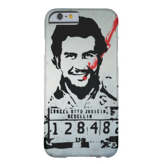 Pablo Escobar Barely There iPhone 6 Hoesje