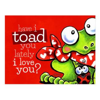 Pad u de Liefde van I u Grappig Valentijn Briefkaart