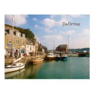 Padstow Cornwall Engeland Briefkaart