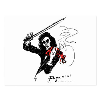 Paganini color3 b&w&red 300dpi briefkaart