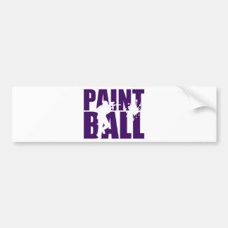 Paintball Bumpersticker
