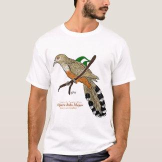 Pájaro Bobo Burgemeester/de hagedis-Koekoek van T Shirt