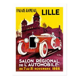 Palais Rameau - Lille - Automobiele Advertentie - Briefkaart