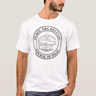 Palau de T-shirt van het Wapenschild
